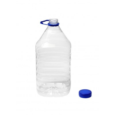 Bidon pet din plastic transparent 5 L