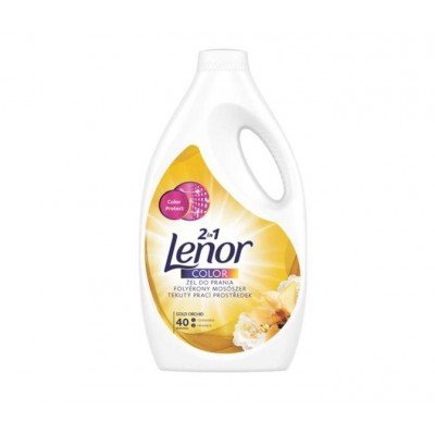 Detergent lichid Lenor Gold Orchid Color, 2.2 L, 40 spalari