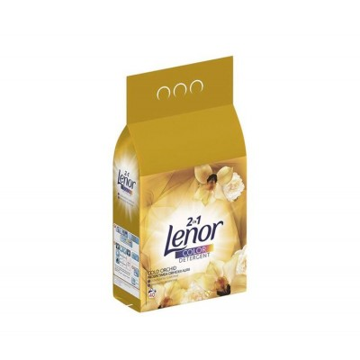 Detergent automat Lenor pudra Gold Orchid Color 2in1, 4 kg, 40 spalari