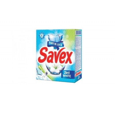 Detergent automat Savex, 2in1 White, 300 grame