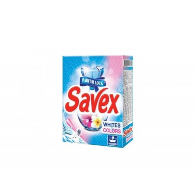 Detergent automat Savex, White and Colors, 300 grame