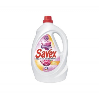 Detergent lichid SAVEX 2IN1 Color, 60 spalari, 3.3 L