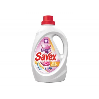 Detergent lichid SAVEX ,2in1 Colors, 20 spalari, 1.1 L