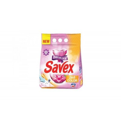 Detergent automat Savex 2in1 Color, 40 spalari, 3.6 Kg