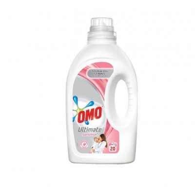 Detergent lichid Omo Ultimate Sensitive , 20 spalari, 1 L