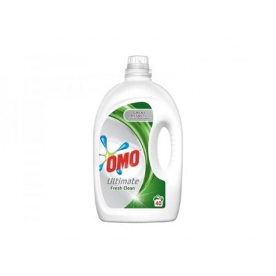 Detergent lichid Omo Ultimate Fresh Clean, 40 spalari, 2 L