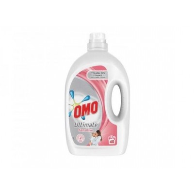 Detergent lichid Omo Ultimate Sensitive, 40 spalari, 2 L