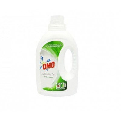 Detergent lichid Omo Ultimate Fresh Clean , 20 spalari, 1 L