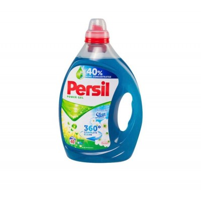 Detergent lichid Persil Power Gel 360 Complete Clean Silan, 40 spalari, 2 L