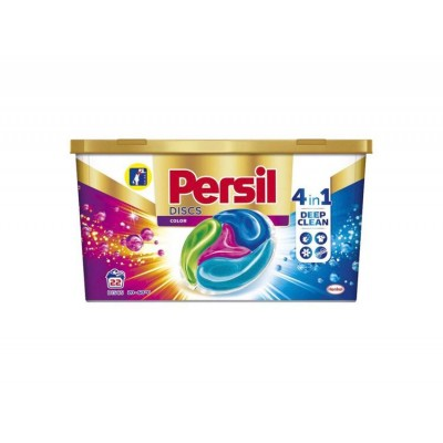 Detergent capsule Persil Disc 4in1 Color Deep Clean, 22 spalari
