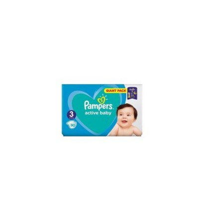 Scutece Pampers Active Baby nr. 3, 6-10 kg, 90 buc